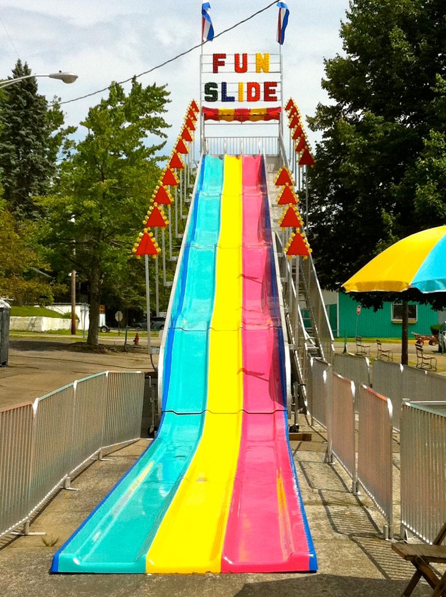 Friday Fun: Oh that's a cute little slip n slide