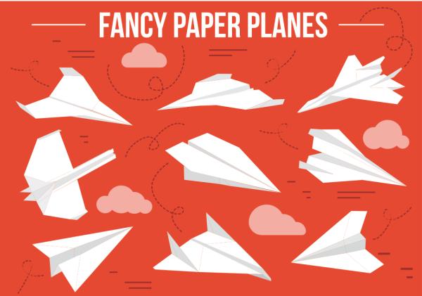 fancy paper planes